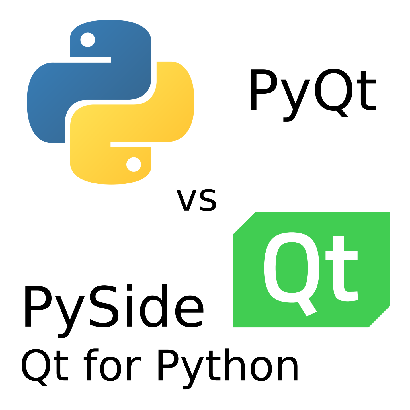 PyQt vs Qt for Python (PySide2) - Machine Koder